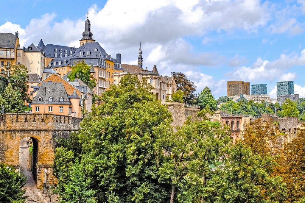 quartier de la résidence de coliving à Luxembourg