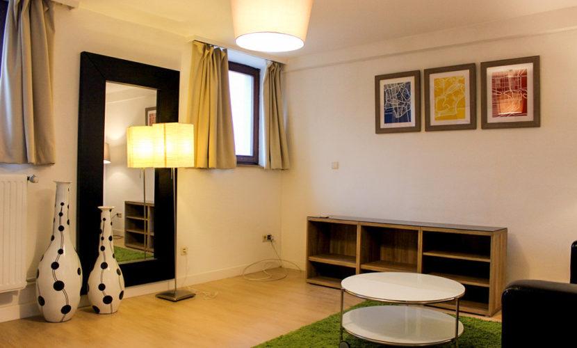 salon dans un appartement en coliving residence flexiroom